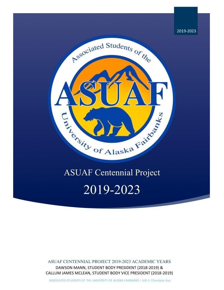 ASUAF Centennial Project